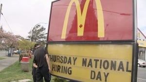 McDonald's accused of favouring foreign workers