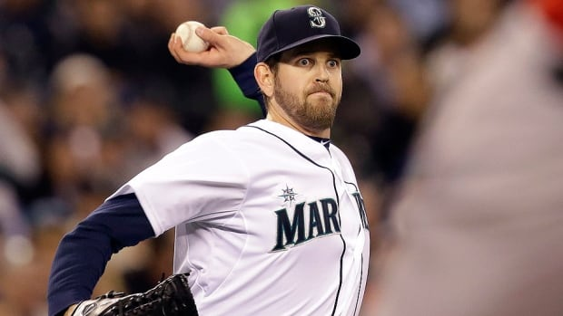 Mariners starting pitcher James Paxton left Tuesday's game against the Angels in the top of the sixth with a strained muscle in his left side. The Richmond, B.C., native was put on the disabled list on Wednesday.