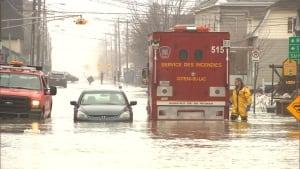 saint clet spring flood