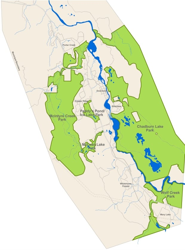 City of Whitehorse's draft regional park plan