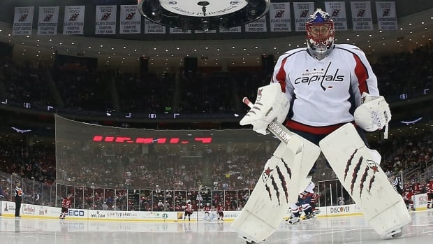 There's a controversy brewing in Washington between the pipes. Recently acquired goalie Jaroslav Halak claims he never told the Capitals he didn't want to face his old St. Louis team, but the Caps say otherwise.