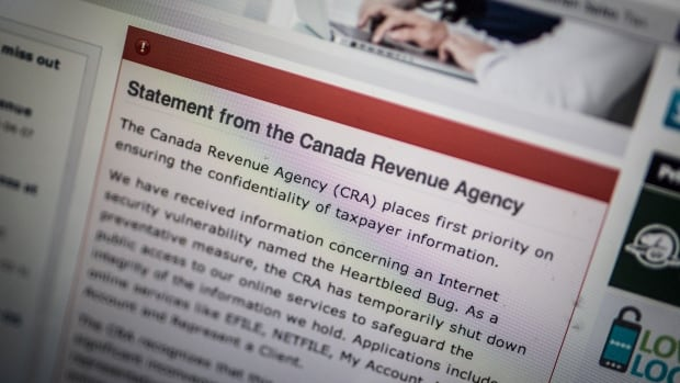 The Canada Revenue Agency blocked partial access to its website and online tax-filing services late on April 8 due to the discovery of a security vulnerability known as the Heartbleed bug - more than a day after the threat was made public.