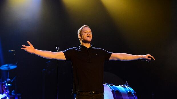 Singer Dan Reynolds performs with his band Imagine Dragons presented by Citi at The Wiltern on Jan. 23 in Los Angeles.