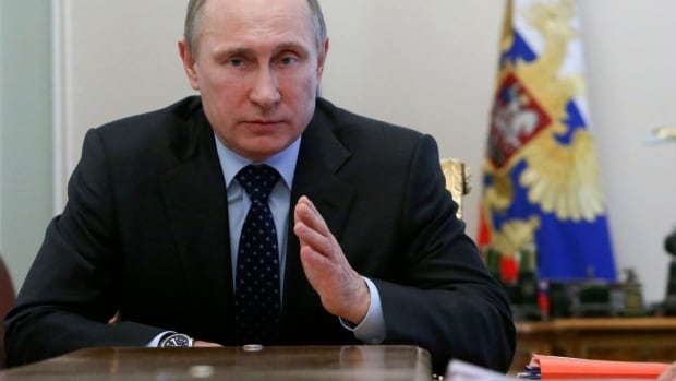 Russian President Vladimir Putin, possibly cooling to the idea of a military invasion in eastern Ukraine, is threatening to put new economic pressures on the cash-strapped country.