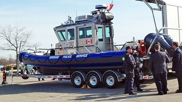 The Windsor Police Service will put to use its new $350,000 boat this weekend.