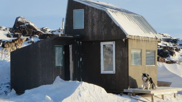A cabin several kilometres outside of Iqaluit, Nunavut. It's a good time to think about cabin safety as northerners prepare to head out to spring camps.