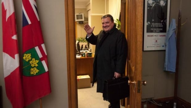 Former Finance Minister Jim Flaherty tweeted this picture the afternoon he announced his resignation from cabinet.