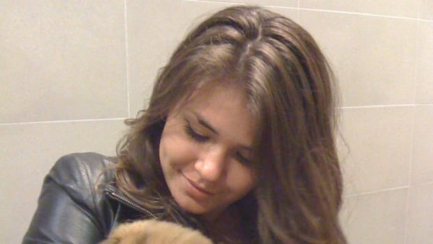 Christina Noudga, 21, was identified by police as the girlfriend of accused killer Dellen Millard.