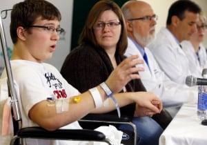 Pennsylvania high school stabbing victim Brett Hurt