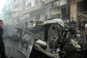 Mideast Syria car bomb