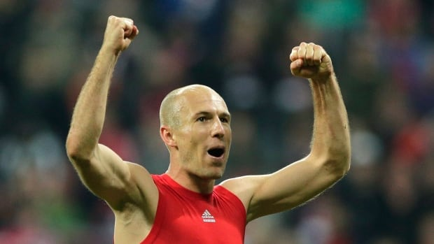 Bayern's Arjen Robben will try and lead the club to a third straight appearance in the Champions League final, and a repeat victory.