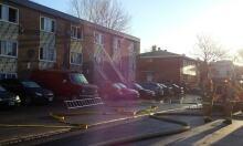 Ottawa fire 725 Bernard Street rescue April 11 2014