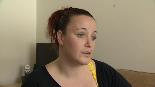 Samantha Brown says two of her three daughters have experienced respiratory problems since moving into the unit.