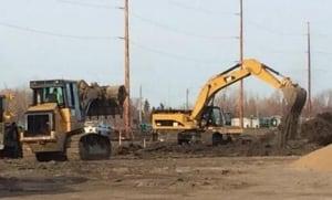 Construction underway at site of new Regina stadium