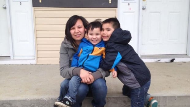 Vanessa Testawich,  a 27-year-old mother of two from Duncan's First Nation, would like to see a facility on reserve that is up to par with off-reserve schools
