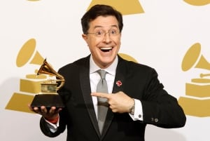 Grammys Stephen Colbert Christmas song winner 2010