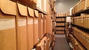New Brunswick Museum archives in Saint John