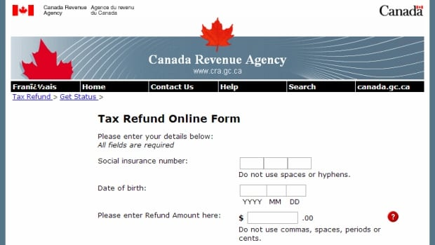 Some of the email scams ask for personal information directly, and others refer the taxpayer to a website that looks like it belongs to the Canadian Revenue Agency.