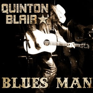 Quinton Blair album cover Blues Man