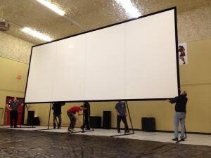 Adam Beach-pop-up cinema
