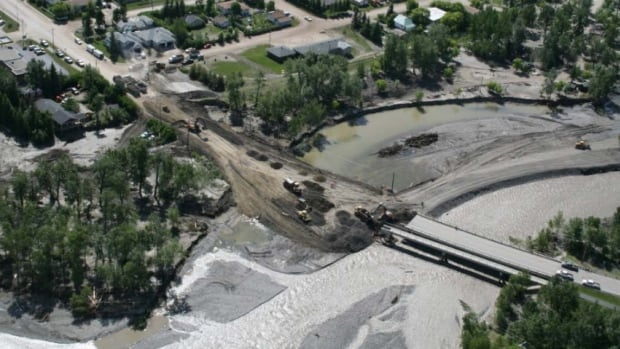 Flooding last June washed out the Sheep River bridge, leaving Turner Valley residents cut off from Black Diamond. The disaster destroyed the water treatment facility in Black Diamond, forcing the town to rely on water from nearby Turner Valley.