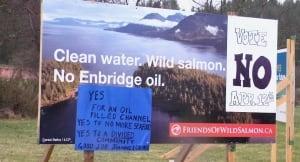 Kitimat Enbridge signs