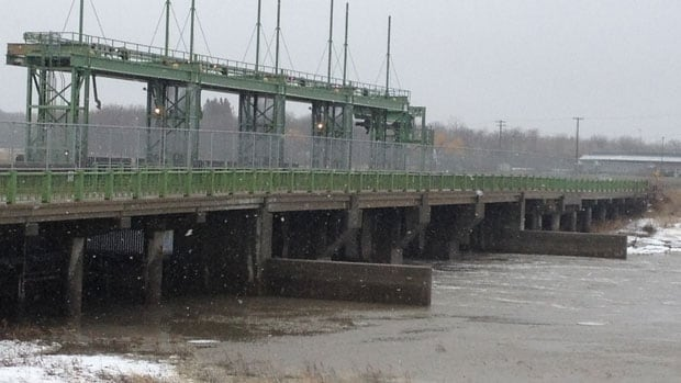 The province said water levels on the Assiniboine have risen by approximately two metres overnight. It said the Portage Diversion may be put into operation within the next 24 hours.