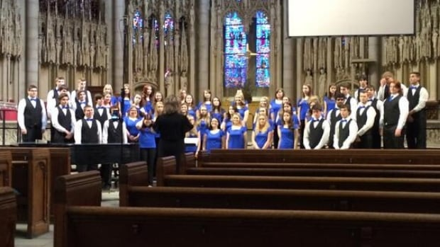 Students in a choir group from Clarenville High School competed in an international competition in New York City over the weekend, and were award with the Spirit of New York Award.
