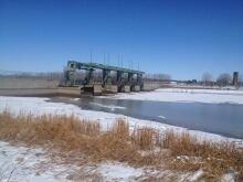 Portage Diversion, April 13, 2014