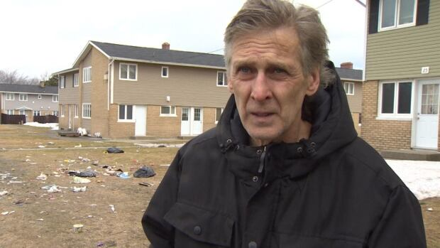 George Vokey blames some of his neighbours for not handling their garbage properly.