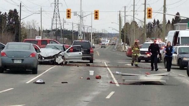 Ten days after crashing his car near the Harbour Expressway and Golf Links Road intersection in Thunder Bay, Gary Soderholm has died. Thunder Bay police report he suffered a medical event that caused him to lose control of his car.