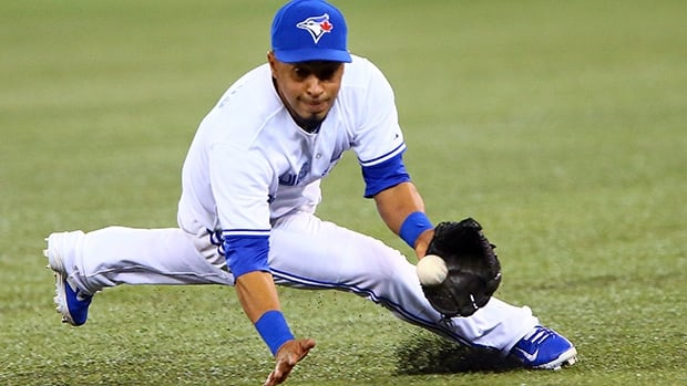 Blue Jays infielder Maicer Izturis learned on Monday that he suffered a tear of his lateral collateral ligament in one of his knees, and is expected to miss four-to-six months of playing time.