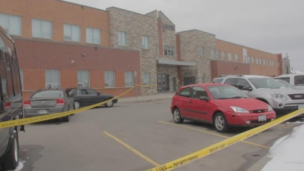 St. Roch Catholic Secondary School and surrounding schools were in lockdown on Tuesday, as police investigated a possible stabbing incident.