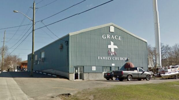 The Donovan Food Bank is being run out of the Grace Family Church on Antwerp Street.