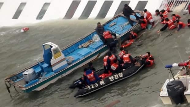 Ferry sinking leaves 6 dead, almost 280 missing