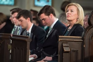 Flaherty Funeral Christine and sons Apr 16 2014