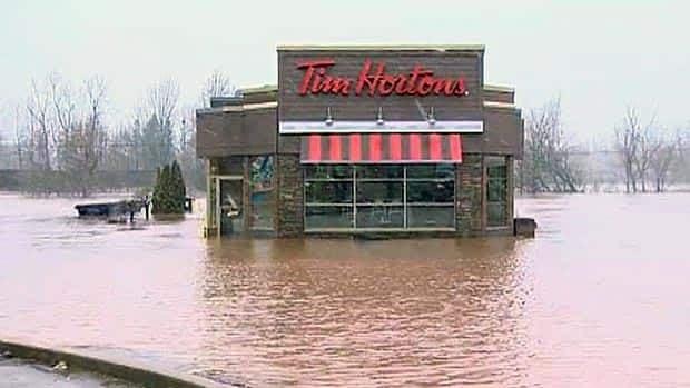 New Brunswick floods: RAW