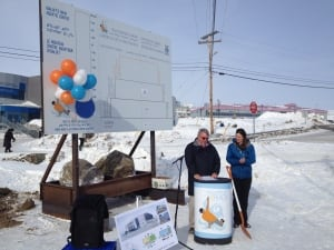 Iqaluit pool ground-breaking