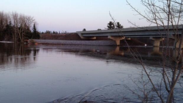 Covered bridge in Cherryvale