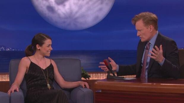 Tatiana Maslany interviewed by Conan O'Brien