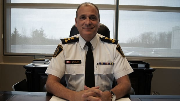 Chief Matt Torigian's policing career has spanned 29 years.