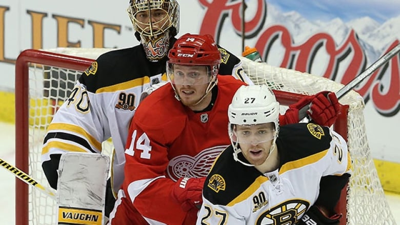 Top-ranked Bruins Not Taking Red Wings Lightly