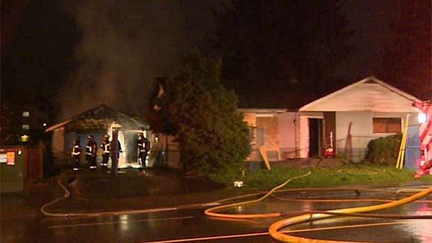 One of the suspected arson incidents was a fire at an abandoned residence in the 32000 block of Hillcrest Avenue.