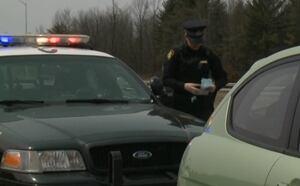 Ottawa traffic Highway 401 easter weekend OPP pull over