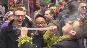 Vancouver 420 rally, April 20, 2014 - 3