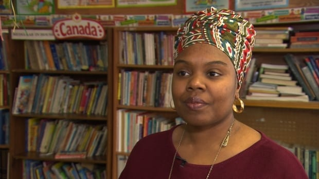 Tiffany Callendar says the organization she heads, the Côtes-des-Neiges Black Community Organization, has a fund of around $250,000 that could serve as the basis for establishing a new community centre to replace the old Negro Community Centre.