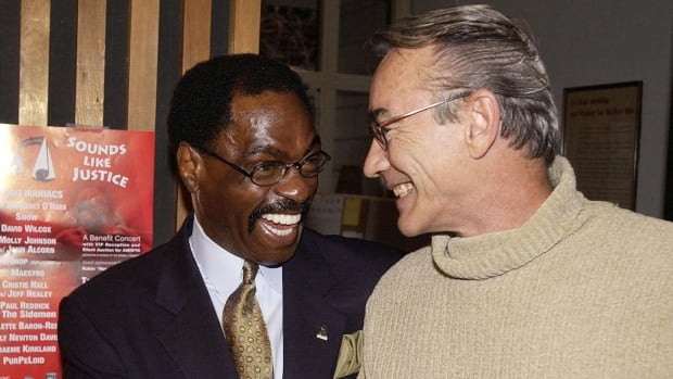 The lives of Steven Truscott, right, and Rubin 'Hurricane' Carter, left, shared many parallels. Both were wrongfully convicted and spent many years in prison for murders they didn't commit, but neither let anger and bitterness cloud their determination to clear their names and go on with their lives.