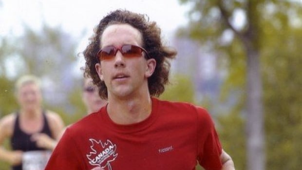 Edmonton runner Tom McGrath, seen here in a 2007 photo, was the fastest Canadian in the Boston Marathon Monday, finishing the race in two hours, 30 minutes and 24 seconds.