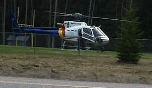 Clearwater helicopter