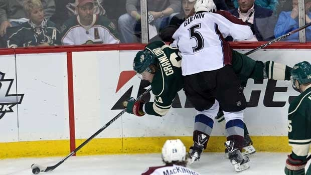 Mikael Granlund Solo Effort Gives Wild OT Win In Game 3: Colorado Goalie Varlamov Outstanding In Losing Cause
